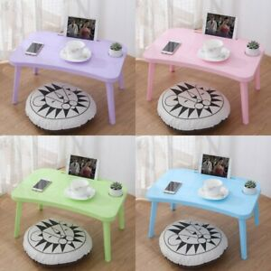 Bed Computer Desk Bedroom Folding Laptop Table Sofa Bed Tray Durable Table Desk