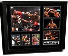 MIKE TYSON SIGNED LIMITED EDITION FRAMED MEMORABILIA