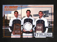 Illinois Fighting Illini--1999 Tennis Pocket Schedule--First Federal