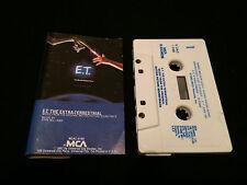 E.T. THE EXTRA-TERRESTRIAL SOUNDTRACK USA CASSETTE TAPE 1982 ET E T