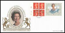 1996 GB Queens 70th Birthday Cyl Label Benham Gold SpG29 FDC Queen Street London