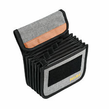 """NiSi USA Cinema Filter Pouch for 4x4'' and 4x5.65"""" safely holds 7 glass filters"""