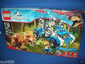 LEGO 75918 Jurassic World T. REX TRACKER HTF 520 pcs NISB sealed retired