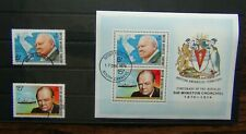 British Antarctic Territory 1974 Winston Churchill set & Miniature Sheet VFU