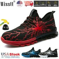 Men's Safety Work Shoes Indestructible Steel Toe Boots Outdoor Sport Sneakers US