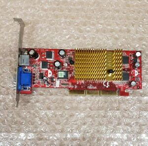 MSI 8936 Nvidia GeForce MX 4000 AGP 8X graphics card, 128MB, S-video out, tested