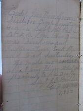 Ohio POW Diary,  ANDERSONVILLE CAPTIVITY DEATH / BURIAL, Prison, CSA, Civil War