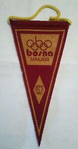 SARAJEVO OLYMPIC GAMES PENNANT