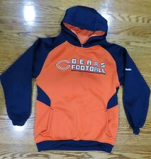 Chicago Bears Football Youth Hoodie Sweatshirt Reebok Pullover NFL Large  14 16 0fd345a13