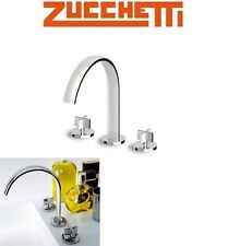 "Zucchetti ""Isyfresh"" ZD5437 Two Cross HandlesAntisplash Sink Mixer w/Fixed Spout"