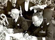 WW2 PNF  FOTO IMPORTANTE GERARCA FASCISTA IN VISITA A BUDAPEST  ftg5