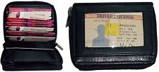 2 New Multiple card carrier Credit Card debit ATM Business mini photos case 100+