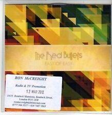 (CS235) The Red Bullets, East Of Easy - 2012 DJ CD