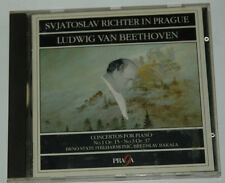 CD/SVIATOSLAV RICHTER IN PRAGUE/BEETHOVEN PIANO CONCERTO 1/Praga 254024 france