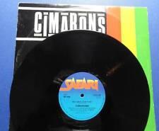 CIMARONS BIG GIRLS DON'T CRY safari 82 12in 45 EX