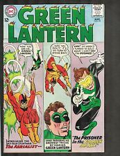 "Green Lantern #35 ~ ""The Prisoner of the Golden Mask!"" ~1965 (3.0) WH"