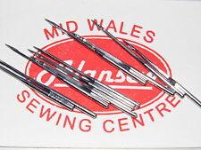 10 X 130/705H calibre no10 Fino Doméstica Agujas de máquina de coser
