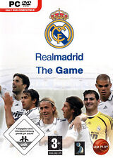 Real Madrid The Game ( PC DVD Soccer Game [EU Football] ) Brand New & Sealed