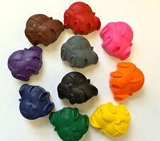 10 Rainbow Cars Crayons Party Favors Teacher Supply Transportation Love Bug