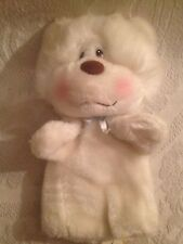 Rare VTG 1985 Blushers Coco Bear Hand Puppet Mighty Star 24K Polar Puff Plush