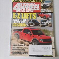4 Wheel & Off-Road Magazine How To Fit Big Tires January 2010 060117nonrh2