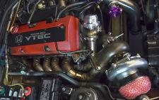 CXRacing Turbo Manifold Header for HONDA S2000 F22 T4 WG 11 Gauge Thick Wall