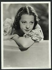 SYLVIA SIDNEY STYLISH PORTRAIT Original Vitg 1930s Sexy Glamour Photo PARAMOUNT