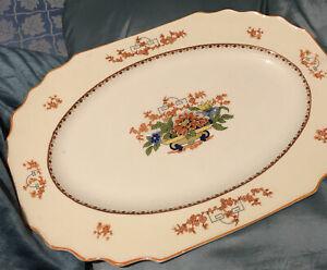 Myott Ascot Chinoiserie Art Deco Small Serving Platter