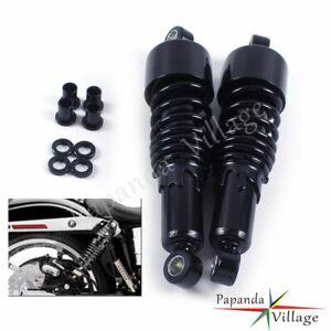 2x Adjustable Rear Suspension Shocks Absorber For Harley Sportster 883 1200 Dyna
