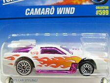 HOT WHEELS VHTF BLUE CARD SERIES CAMARO WIND #599