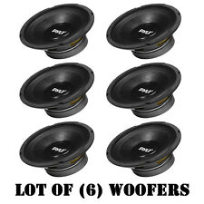 "Lot of (6) Pyle PPA8 500W 8 Ohm Professional Premium PA 8"" Woofers DJ Pro Audio"
