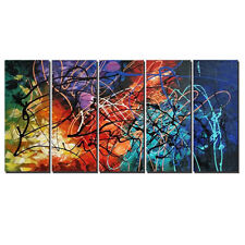 Abstract Original Hand Paint Canvas Oil Paintings Pic Home Decor Wall Art Colors