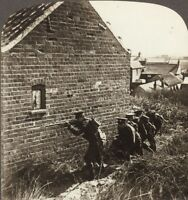 Fighting The Germans House To House. Underwood Stereoview #67