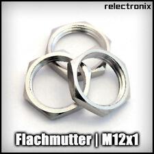 Sechskant Flachmutter / Gegenmutter M12x1 Feingewinde