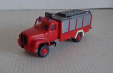 RMM ROSKOPF Camion SAURER POMPIER Ech 1/87 BON ETAT