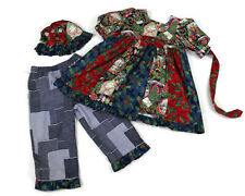 Girl's Dress Christmas Holiday Size 5 3 PC Set Boutique