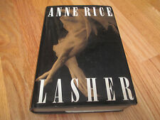 Horror Author ANNE RICE signed LASHER 1993 Book COA