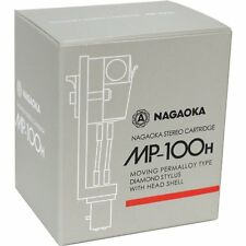 NAGAOKA MP-100H  STEREO CARTRIDGE+HEADSHELL FROM JAPAN FREE SHIPPING w/TRACKING