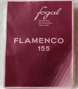Fogal Flamenco 155 Mesh Tights Size Small Capri