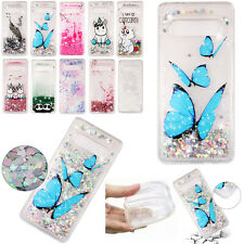 Patterned TPU Glitter Liquid Soft Case Cover For iPhone X XS XR 8 Plus 7 6 6S