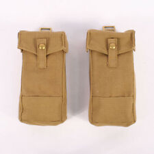 British WW2 Replica 1937 MKIII Ammo Pouches by Kay Canvas BE498