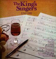 "KING'S SINGERS Encore Thirteen Tracks 12"" 33rpm Vinyl LP Album Polydor DA"