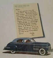 Vintage Oldsmobile Hydra Matic Palm Springs Automobile Advertisement 1941