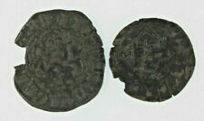 Spain Middle Ages (13th Century) 2-coin Set // John II & Henry IV of Castile