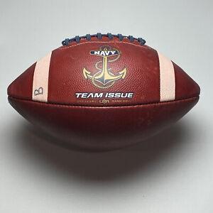 2020 Navy Midshipmen Anchor Logo Game Used NCAA Football - University