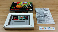Super Nintendo SNES Earthworm Jim PAL