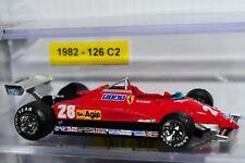 Model Ferrari 1:43 Ferrari F1 1982 126 C2 num 28 Mario ANDRETTI