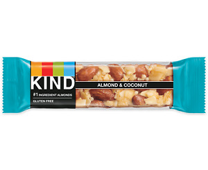 Nut Bars Almond & Coconut (12 bars) -Free Shipping