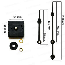 Mécanisme Horloge Aiguilles 23 cm filetage 6mm Canon Long  Mouvement Pendule