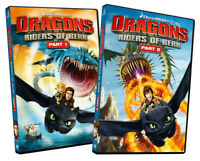 Dragons - Riders of Berk (Part 1 / Part 2) (2- New DVD